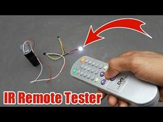 How To Make An IR Remote Tester Using IR Receiver Diode - TSOP38238 - YouTube