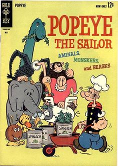 """The later Popeye comic strip (not the movie cartoon) introduced a character named """"Dufus"""". Description from pinterest.com. I searched for this on bing.com/images"""