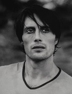 A young Mads Mikkelsen