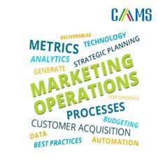 Marketing operations allow you to make the most of the technologies chosen for your marketing department as well as streamline processes and get the most from your strategy. It aligns and blends process, analysis and data using the latest technology.  Contact:: Info@camsinfotech.com Strategic Planning, Latest Technology, Budgeting, Marketing, Tips, Budget Organization