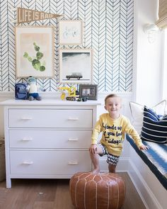 """1,815 Likes, 48 Comments - Monika Hibbs (@monikahibbs) on Instagram: """"This little guy is always so proud of his room and organization skills! (And how cute is his little…"""""""