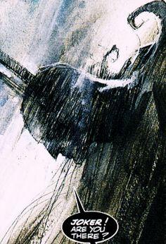 Arkham Asylum illustrations/art by Dave McKean