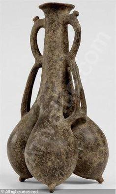 Iran, amlash, ceramic vase , ca 1000 BC.