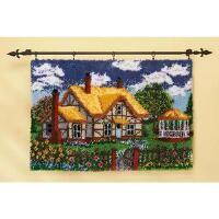 Craftways® English Cottage Latch Hook Kit
