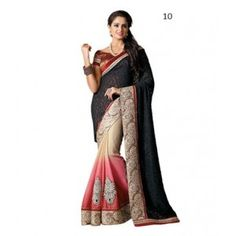 Beautiful women brasso sarees.... from glamnew