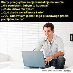 #humor #kwejk #zakupy Best Memes, Jokes, Lol, Entertainment, Humor, Funny, Husky Jokes, Humour, Memes