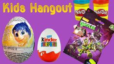 5 Surprise eggs opening blind bags play doh Kinder Disney Pixar Finding Dory Minions Inside Out Rabbids Invasion Cars Kids Hangout toys Surprise Eggs For Kid...
