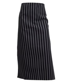These striped butchers half aprons are made from 100% polyester and the stripes are woven into the fabric so that they don't fade away when washed!