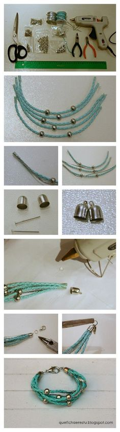 nice DIY Bijoux - Que ficha eres tu?:  DIY: pulsera Beatrix