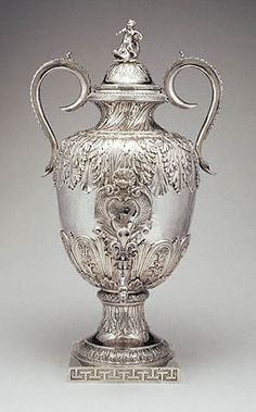 Fountain. Possibly by Jean Leroy (French, Paris, 1661-1663; changes 1698 and 1758-62). Silver. H: 2 ft. 1 5/8 in. x W: 1 ft. 2 1/8 in. x D: 1 ft. 2 1/4 in. 82.DG.17 ©J. Paul Getty Trust