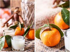 DIY Duftkerzen mit Mandarinenöl