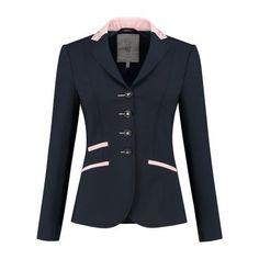 Navy, Rosegold & Swarovski® elements Show Jackets, Equestrian Style, Swarovski, Glamour, Blazer, Navy, Fashion, Shabby Chic, Hale Navy