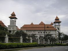 Istana Melawati is the second national palace of Malaysia's Yang di-Pertuan Agong in Putrajaya after the Istana Negara, Kuala Lumpur. It serves as a royal retreat for the Yang di-Pertuan Agong.