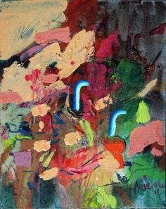 Saatchi Online Artist: Görkem Dikel; Oil, 2013, Painting Robot Love
