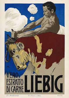 Liebig 1889 cm 95,6 x 145  G. Ricordi Milano