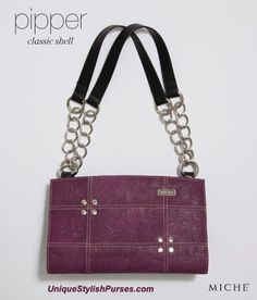 Unique Stylish Purses | Miche Bags: Miche Pipper Purple Classic Shell