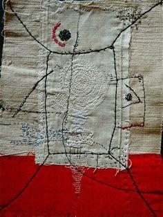 Stitching, by Nidus (via L'ivre de matieres & de couleurs)