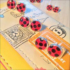 Miraculous Ladybug Marinette Tiki Cosplay Earrings