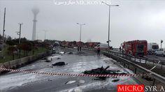 تركيا تكشف عن سبب تحطم مروحية في اسطنبول ومقتل ركابها