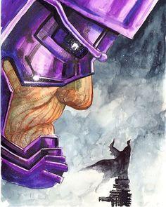 Art?!?! Galactus vs Batman..?! #galactus#marvel#dc#art#drawing#artist#comics#manga#anime#cosplay#disney#dccomics#cartoon#movie#otaku#nerd#love#starwars#batman#spiderman#wonderwoman#beastmode#gamer#superman#ironman#flash#pencil#pokemon#captainamerica