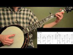 Bury Me Beneath The Willow Beginner Banjo Lesson - YouTube