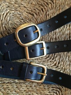 Wonderful handmade leather belts with brass buckles made by Brendan Jennings Brass Buckle, Craft Shop, Leather Belts, Handmade Leather, What To Wear, Crafts, Shopping, Accessories, Fashion