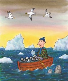 Read Every Day poster by Axel Scheffler for Scholastic Axel Scheffler, Library Inspiration, Positive Art, Children's Book Illustration, Book Illustrations, I Love Books, Childrens Books, Fantasy Art, Book Art