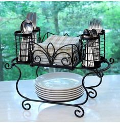 Great deal on all home goods: Buffet Caddy Large Modular Patio Picnic Catering Home Garden Party & Events. Iron Furniture, Furniture Decor, Home Decor Kitchen, Kitchen Design, Kitchen Layout, Wrought Iron Decor, Kitchen Organization, Cool Kitchens, Home Goods