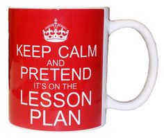 New Custom Keep Calm and Pretend It's on the Lesson by FastTees, $9.95