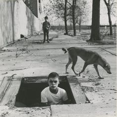 Photographer Arthur Tress immortalizes children's nightmares in staged photographs.