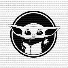 Baby Yoda svg The Mandalorian The Child Baby Yoda Png star wars svg png The Child png t shirt template Star Wars Silhouette, Silhouette Design, Silhouette Projects, Star Ears, Yoda Png, Anniversaire Star Wars, Create Invitations, Star Wars Baby, Darth Vader
