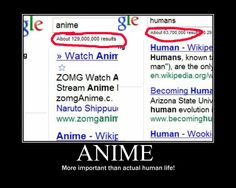 Anime, more important than actual human life!