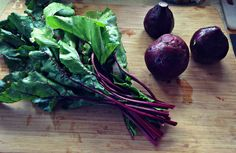 How to cook beets and their greens