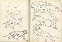 From the book, Anyone can Draw, by Arthur Zaidenberg, 1939.