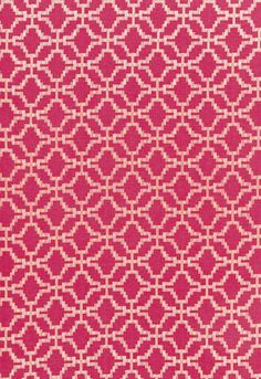 Design Inspiration  This modern fretwork pattern has a matte and shine appearance, which is created through embroidery in tonal shades of silky viscose on a cotton and linen ground. Colors range from cool, sophisticated neutrals to vibrant shades of Aquamarine and Raspberry. This fabric is woven using natural fibers. Variations in color and texture are part of its inherent beauty and should not be considered a defect