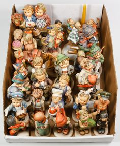 Lot 471: Hummel / Goebel Assortment; Thirty figurines with TMK1 and TMK5