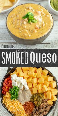 Traeger Recipes, Grilling Recipes, Meat Recipes, Mexican Food Recipes, Smoker Grill Recipes, Cheese Recipes, Yummy Recipes, Recipies, Healthy Recipes