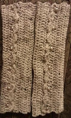 Alicia Legwarmers pattern by Leah Addis on Ravelry