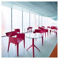 'Pedrera Armchair (Set of by Vondom. La Pedrera, Pool Furniture, Outdoor Furniture, Barcelona, Design Bestseller, Unique Buildings, Restaurant Chairs, Lounge, Coastal Living