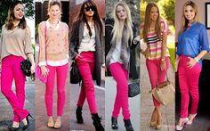 Desejando: Pink Pants Calça Rosa