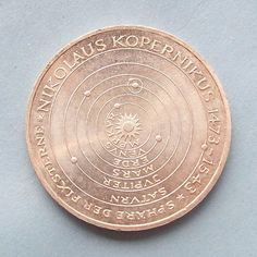 Copernicus silver coin by greenlandturtle