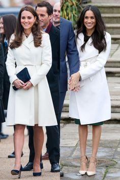 Kate Middleton and Meghan Markle's Matching Outfits - Kate Middleton and Meghan Markle Photos