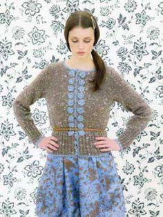 #113 – Absinthe (Millais, Thistle, Willow Tweed) | Knitting Fever