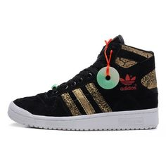 adidas Originals Mens DECADE OG MID CHINESE NEW YEAR Shoes Black Gold Q35131