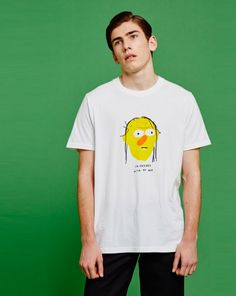 Don't Hug Me I'm Scared for Lazy Oaf Roy T-shirt - View all - NEW IN - Mens