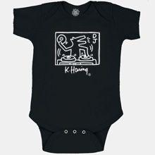 REBECCA:  Pop-Shop.com DJ Dog Infant Romper