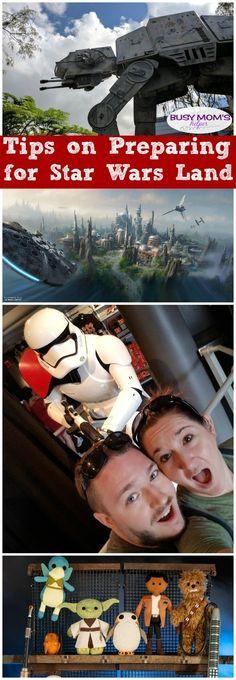 Tips for Preparing for Star Wars Land #starwars #waltdisneyworld #disneyland #starwarsland #disneytrip #disneyparks #hollywoodstudios #familytravel via @busymomshelper
