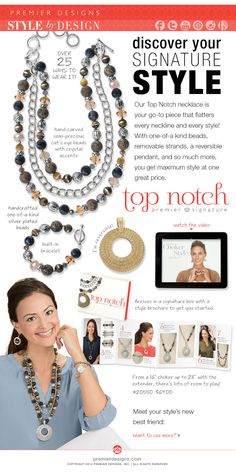 Ask me how you can get this amazingly versatile necklace for FREE in May!
