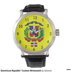 Dominican Republic* Custom Wristwatch