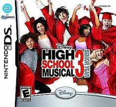 Nintendo DS High School Musical 3 Senior Year used with case Nintendo Ds Spiele, High School Musical 3, Disney High Schools, Work This Out, Video Game Names, Capture Photo, Personality Quizzes, Freshman Year, Super Mario Bros
